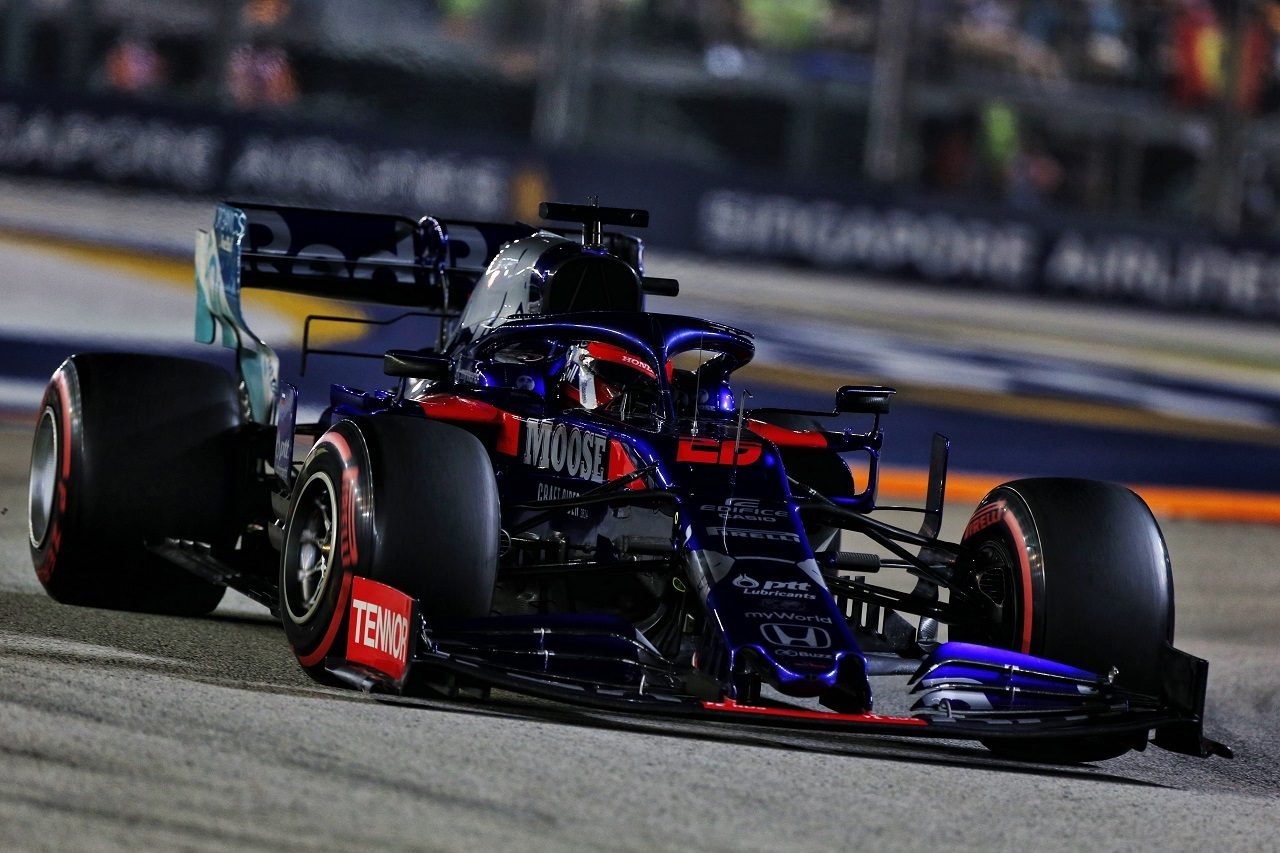 2019年F1第15戦シンガポールGP土曜 ダニール・クビアト(トロロッソ・ホンダ)