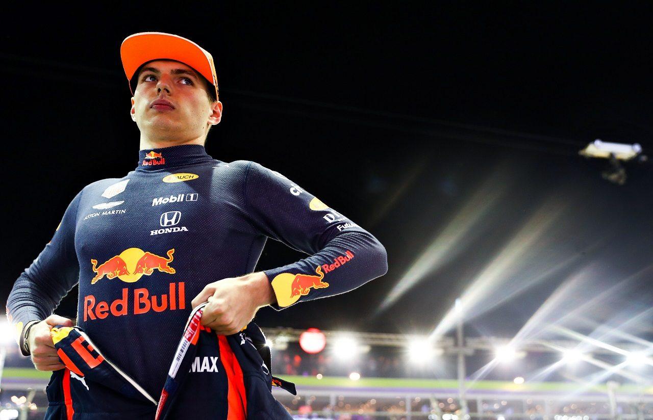 2019年F1第15戦シンガポールGP土曜 マックス・フェルスタッペン(レッドブル・ホンダF1)