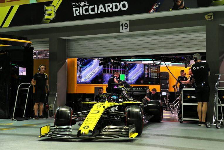 F1 | 予選8番手のリカルドが失格に。ルノーがパワーユニット関連規則に違反:F1シンガポールGP