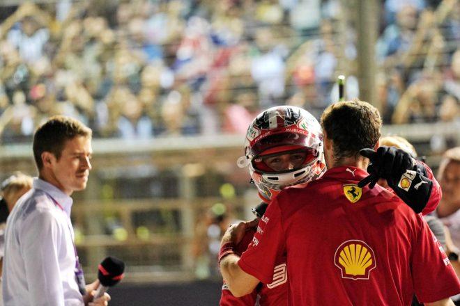 2019年F1第15戦シンガポールGP:シャルル・ルクレール(フェラーリ)