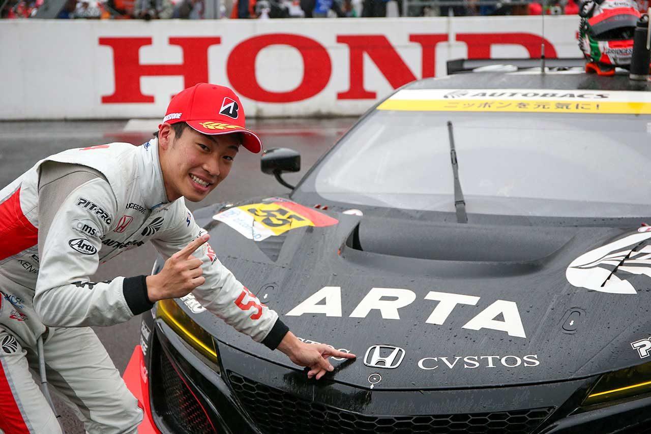 ARTA NSX GT3をドライブした福住仁嶺