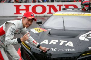 スーパーGT | ARTA NSX GT3をドライブした福住仁嶺