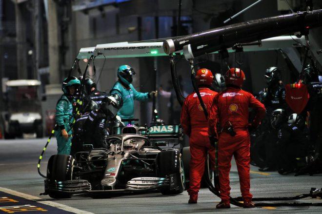 2019年F1第15戦シンガポールGP ルイス・ハミルトン(メルセデス)