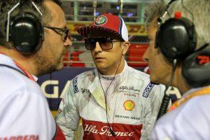 F1 | ライコネン「接触でレースは終わり。避けたかったが間に合わなかった」:アルファロメオ F1シンガポールGP日曜