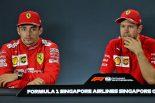 2019年F1第15戦シンガポールGP決勝会見 セバスチャン・ベッテル、シャルル・ルクレール