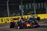 2019年F1第15戦シンガポールGP マックス・フェルスタッペン(レッドブル・ホンダ)