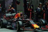 2019年F1第15戦シンガポールGP アレクサンダー・アルボン(レッドブル・ホンダ)