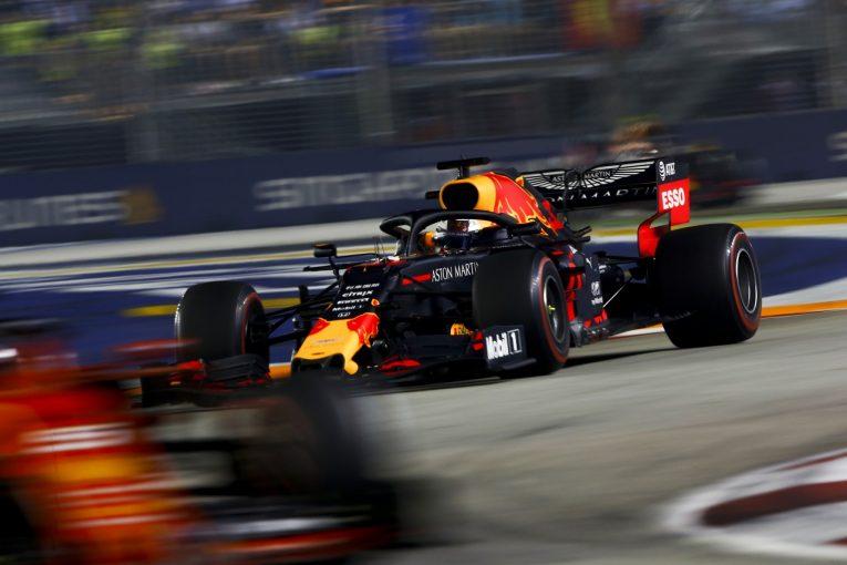 F1 | ホンダF1、今季6回目の表彰台&3台入賞「フェラーリは手ごわかった。終盤戦で巻き返したい」と田辺TD:シンガポールGP