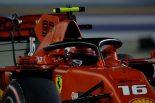 2019年F1第15戦シンガポールGP シャルル・ルクレール(フェラーリ)