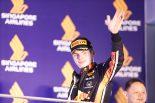 2019年F1第15戦シンガポールGP マックス・フェルスタッペン(レッドブル・ホンダ)が3位表彰台