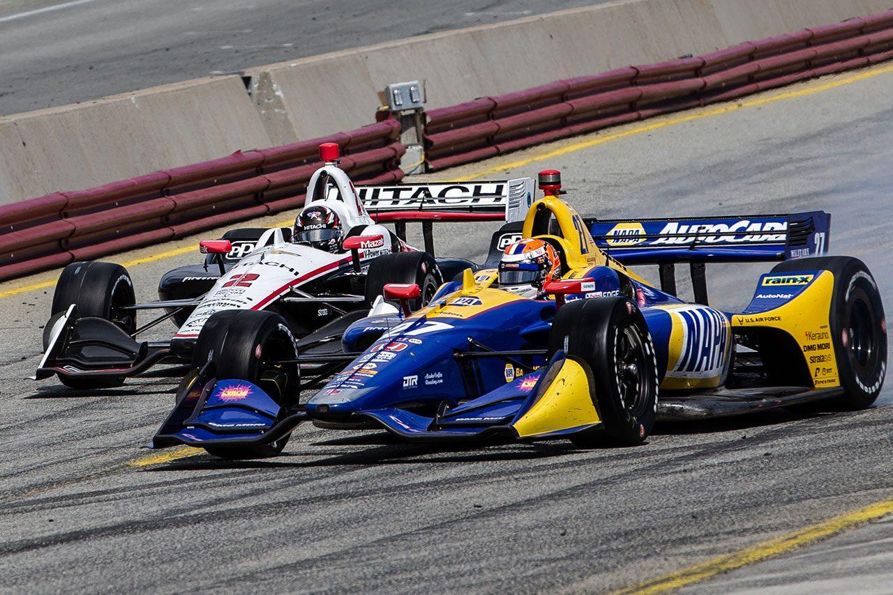インディカー最終戦詳報:ニューガーデン2度目の戴冠。レースはハータがライバルを抑え圧勝劇をみせる