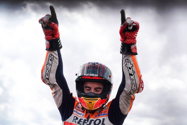 MotoGP   MotoGPアラゴンGP:マルケス、グランプリ参戦200戦目を完ぺきなポール・トゥ・ウインで飾る。中上は粘りの10位