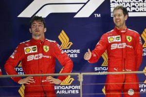 "F1 | ""フェアでないアンダーカット""で勝利を逃したルクレールが無線で怒り。フェラーリ代表は「予想外の事態」と説明"