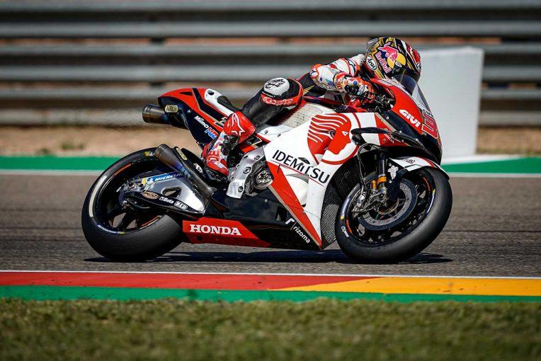 MotoGP   MotoGPアラゴンGP:中上、4戦ぶり10位フィニッシュ達成も「課題を残すレースとなった」