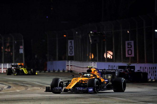 2019年F1第15戦シンガポールGP日曜 ランド・ノリス(マクラーレン)