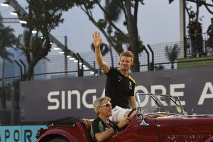 F1 | ヒュルケンベルグ9位「1周目の接触で後方に落ちたが、根気よく走り続けてポイントを獲得」:ルノー F1シンガポールGP