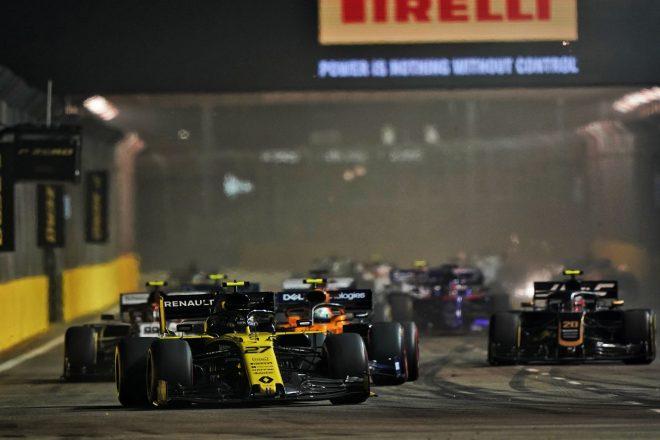 2019年F1第15戦シンガポールGP日曜 ニコ・ヒュルケンベルグ(ルノー)