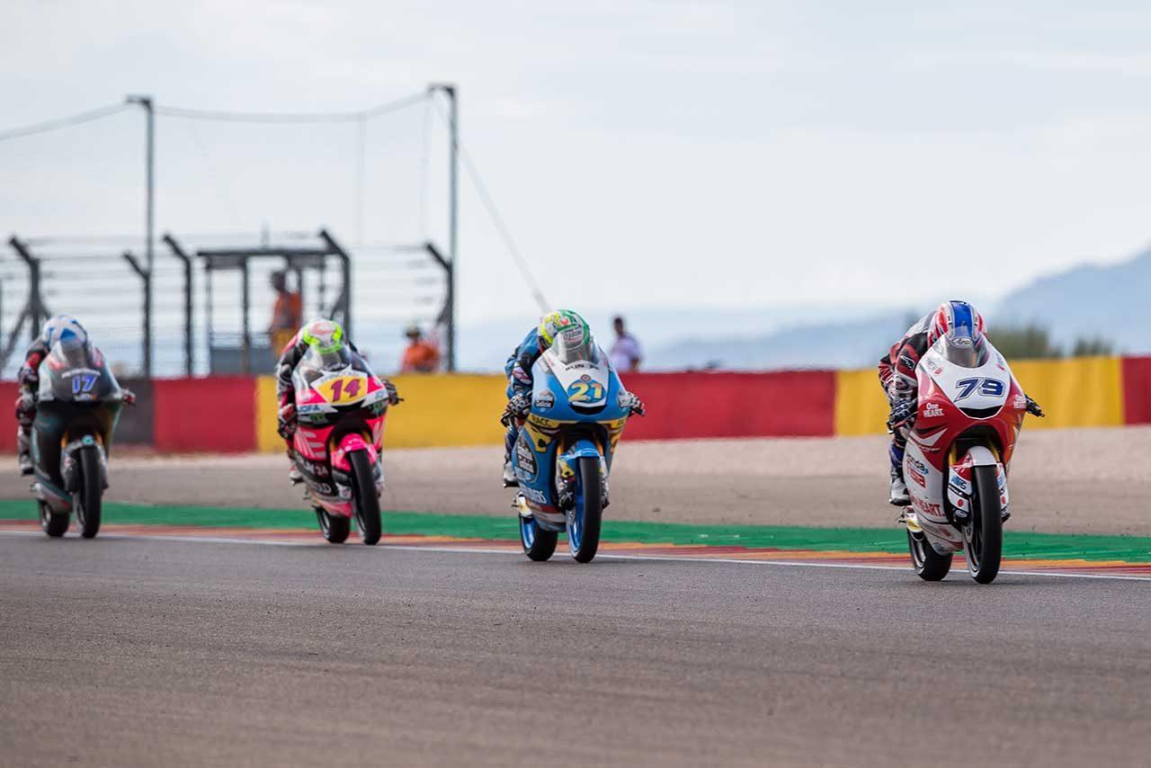 MotoGPアラゴンGP:Moto3初表彰台獲得のルーキー小椋藍「ル・マン以来、このような日が来ることを考えていた」