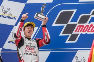 MotoGP | MotoGPアラゴンGP:Moto3初表彰台獲得のルーキー小椋藍「ル・マン以来、このような日が来ることを考えていた」