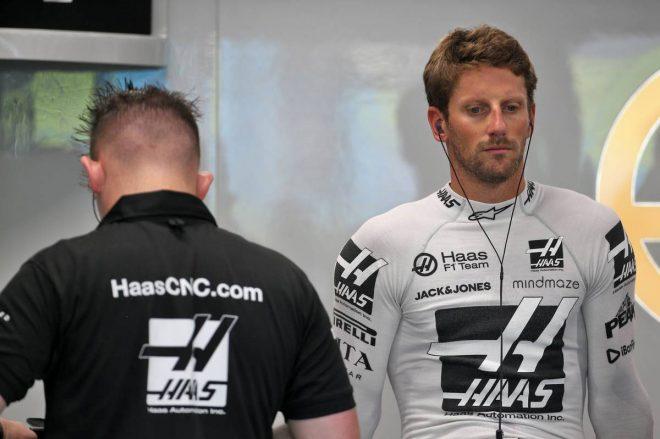 2019年F1第15戦シンガポールGP ロマン・グロージャン(ハース)