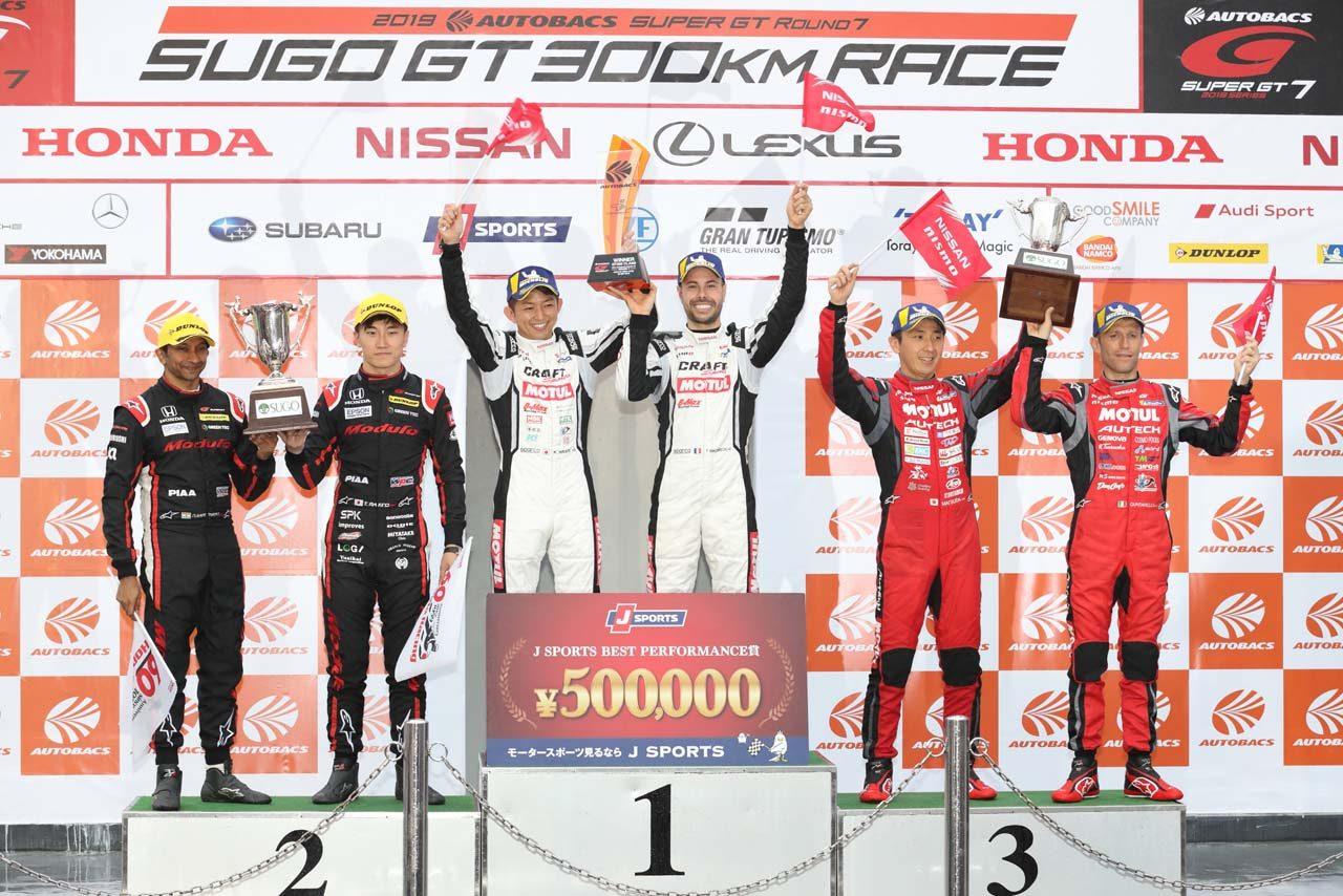 ニッサン 2019スーパーGT第7戦SUGO レースレポート