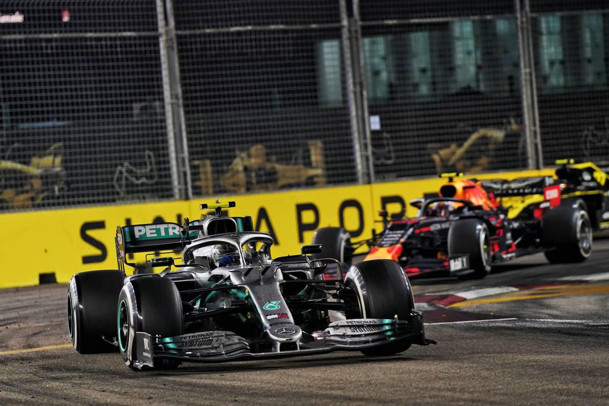 2019年F1第15戦シンガポールGP バルテリ・ボッタス(メルセデス)