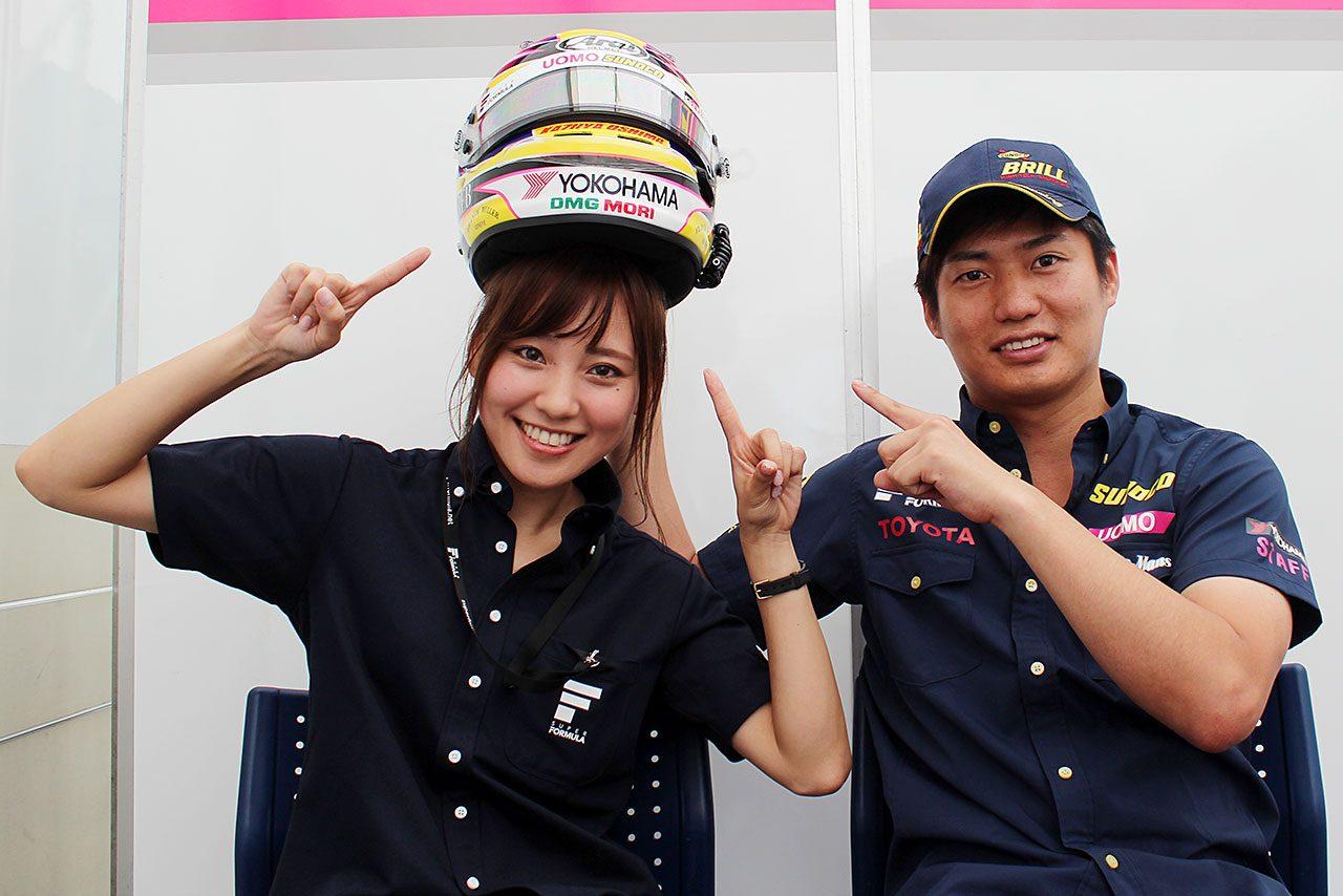 【ヘルメットはドライバーの顔:大嶋和也】