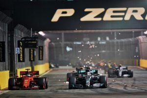 F1 | 敗北喫したハミルトン、フェラーリF1を警戒「今後、どのサーキットに行っても彼らが優勢になるだろう」