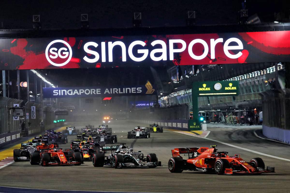 2019年F1第15戦シンガポールGP