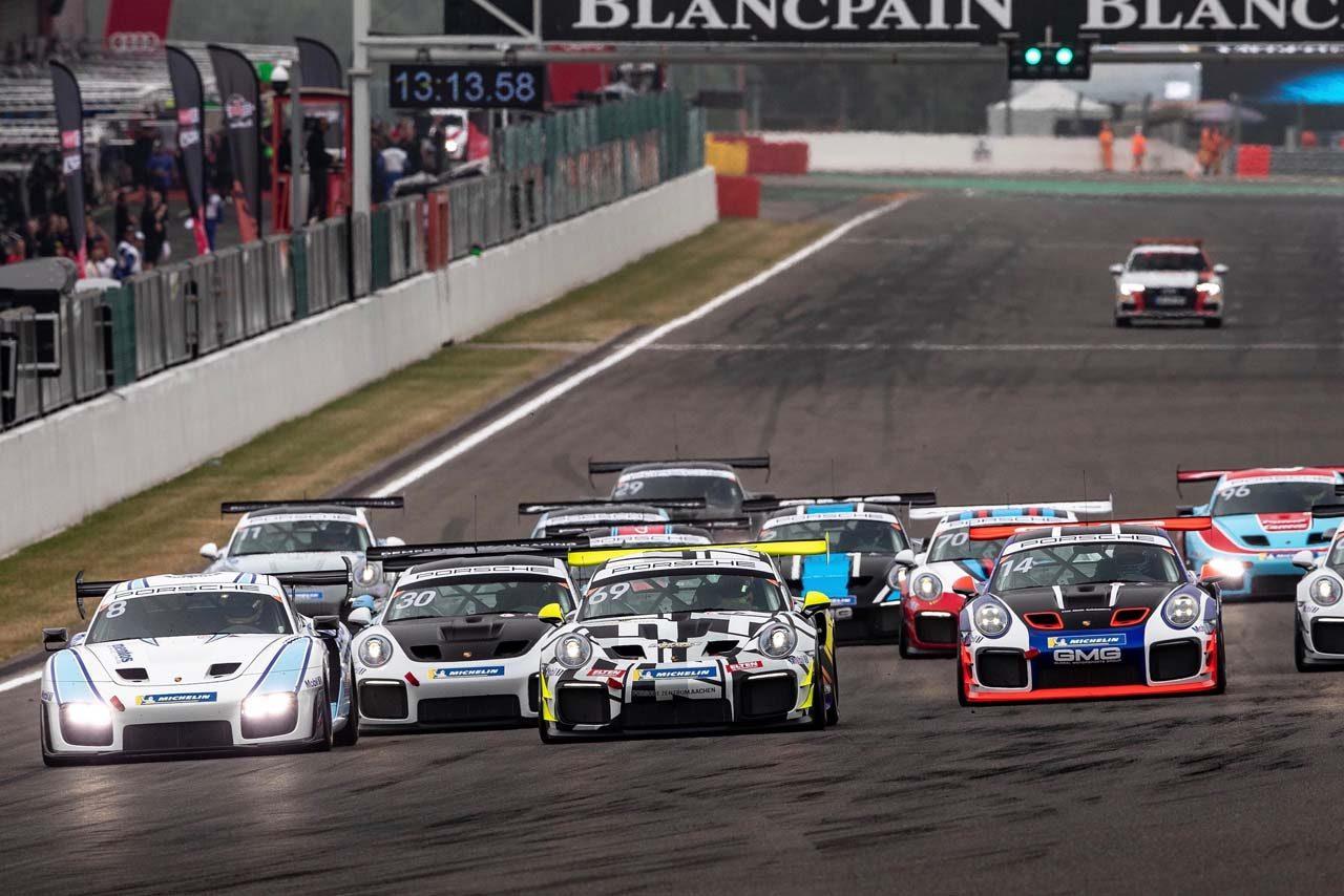ブランパンGT:アウディの新型GT2カー『R8 LMS GT2』がバルセロナでレースデビューへ
