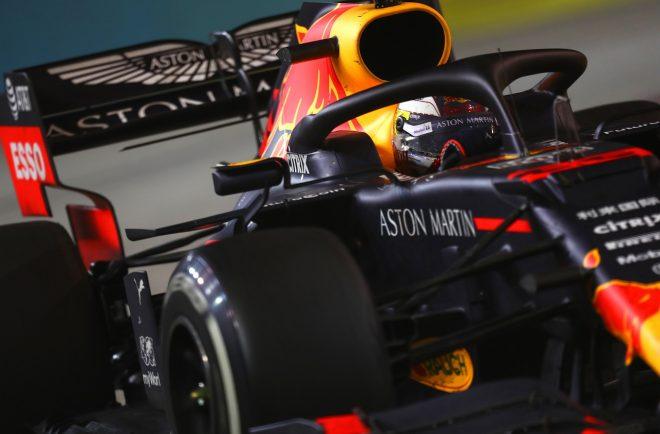 2019年F1第15戦シンガポールGP マックス・フェルスタッペン(レッドブルRB15・ホンダ)