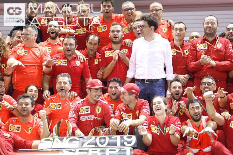 Blog | 【ブログ】Shots!ついにベッテルが今季初勝利、アップデート大成功でフェラーリが破竹の勢い/F1シンガポールGP