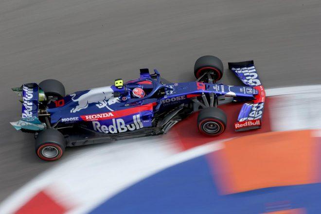 2019年F1第第16戦ロシアGP ピエール・ガスリー(トロロッソ・ホンダ)