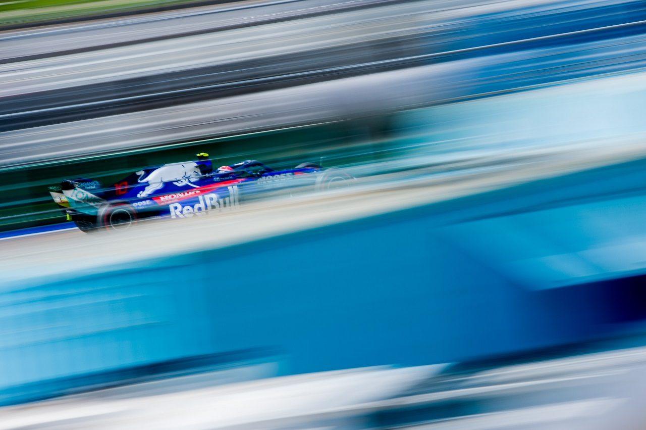 2019年F1第16戦ロシアGP金曜 ピエール・ガスリー(トロロッソ・ホンダ)