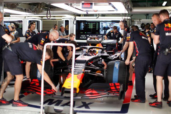 2019年F1第16戦ロシアGP FP2でトップタイムをマークしたマックス・フェルスタッペン(レッドブル・ホンダ)