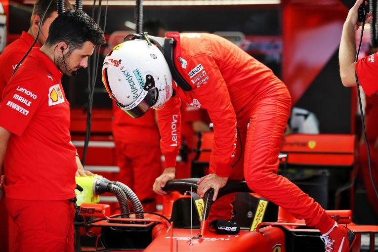 F1 | ベッテル5番手「多数のセットアップを試した。バランスを改善し予選で上位をつかみたい」:フェラーリ F1ロシアGP
