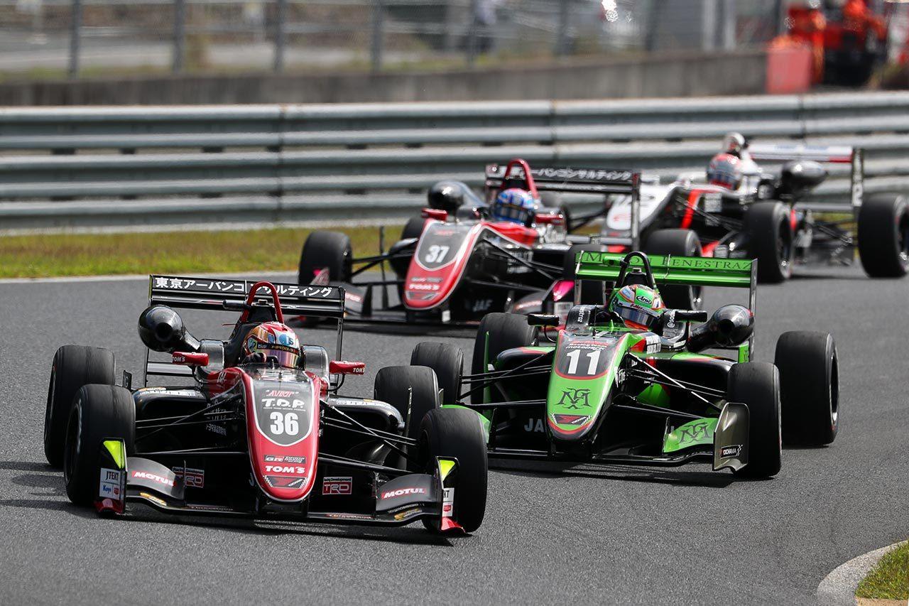 全日本F3選手権第19戦岡山:宮田莉朋がフルマークで今季7勝目を飾る
