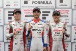 スーパーフォーミュラ | 平川亮「金曜日から自信があった。戦略は限られているが、ミスなく走り切れば勝てる」/スーパーフォーミュラ第6戦予選トップ3会見