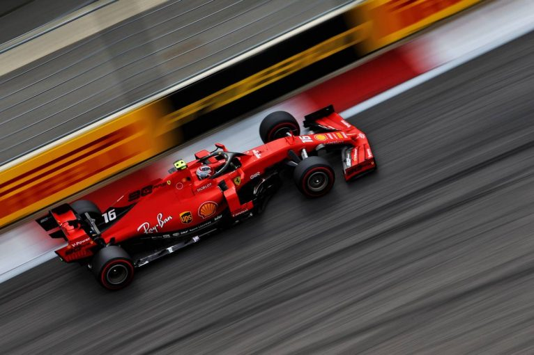 F1 | 好調フェラーリがワンツー、中団チームは大混戦【タイム結果】F1第16戦ロシアGP フリー走行3回目