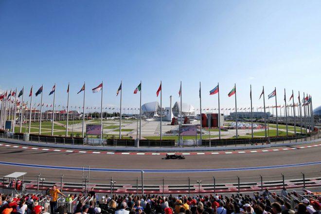 2019年F1第16戦ロシアGP予選 ロマン・グロージャン(ハース)