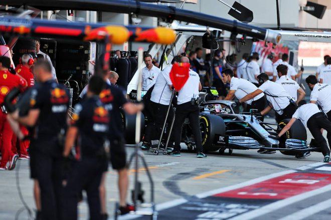 2019年F1第16戦ロシアGP予選 ルイス・ハミルトン