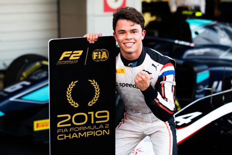 海外レース他 | FIA-F2第11戦ロシア レース1:フォーミュラE参戦決定のデ・フリースが優勝でシリーズ王座奪取。松下は6位