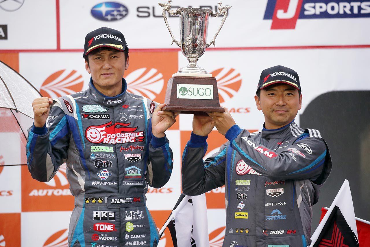 GOODSMILE RACING & Team UKYO 2019スーパーGT第7戦SUGO レースレポート