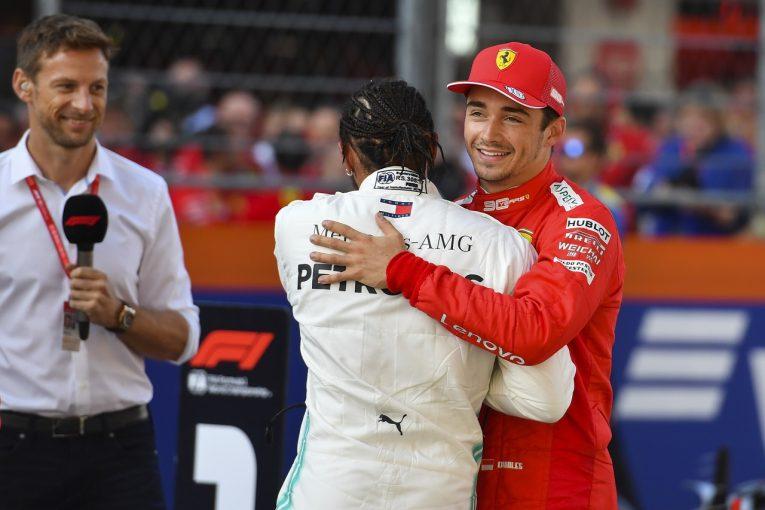 F1 | ポールのルクレール、シューマッハー以来の記録達成も「今はそのことより決勝への準備に集中したい」:フェラーリF1