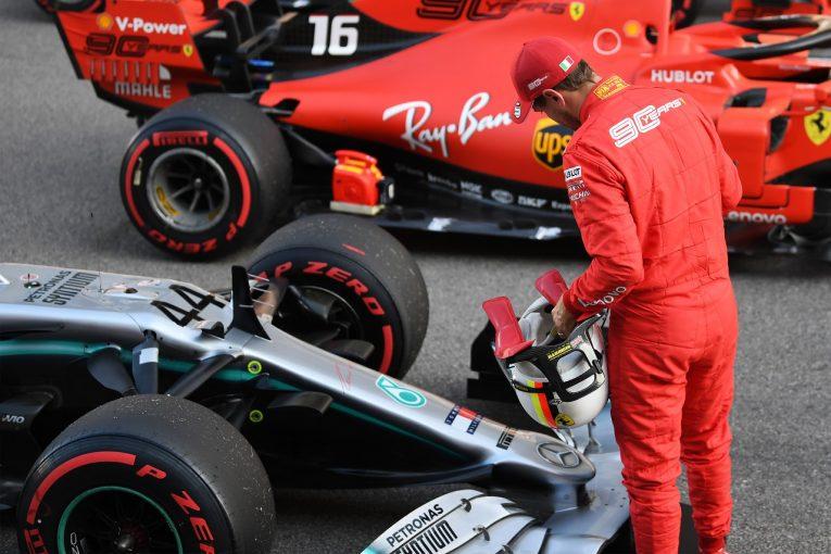 F1 | ベッテル予選3番手「タイヤ戦略は僕らが正解だと信じている。メルセデスとの戦いは面白くなりそう」:フェラーリF1