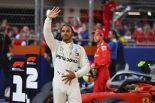 """F1   ハミルトン予選2番手「フェラーリにはパーティーモードを超えた""""ジェットモード""""がある」:メルセデス F1ロシアGP"""
