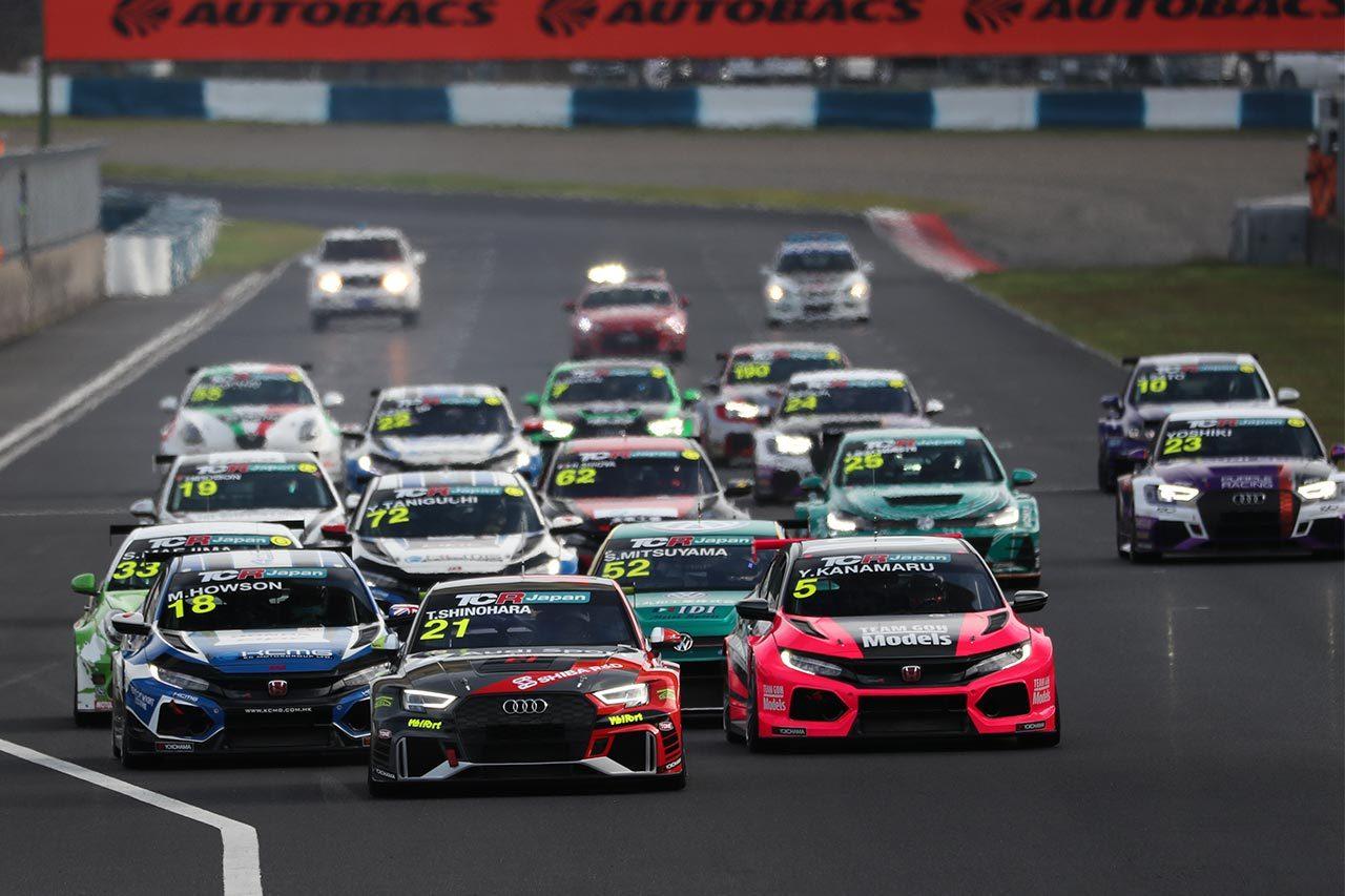 TCRジャパンシリーズ第4戦岡山:Hitotsuyama Racingのアウディと篠原拓朗が週末を制圧