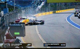 海外レース他 | FIA-F2ロシア大会レース2