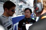 2019年F1第16戦ロシアGP ロマン・グロージャン、ハースF1の小松礼雄チーフエンジニア