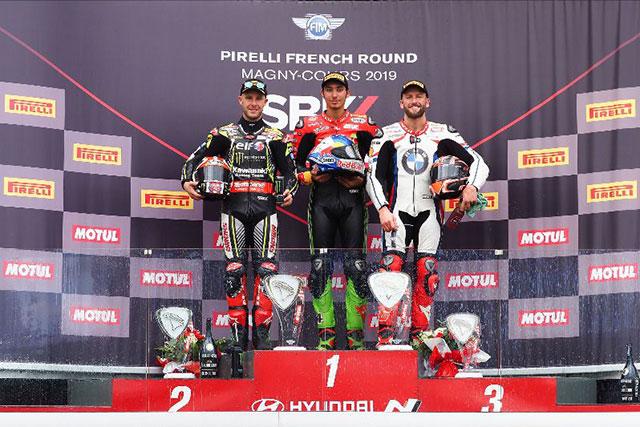 SBKフランス:レイ、史上初の5連覇を達成。2戦を残して2019年シーズンのチャンピオンに輝く